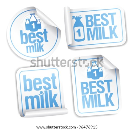 Best milk stickers.