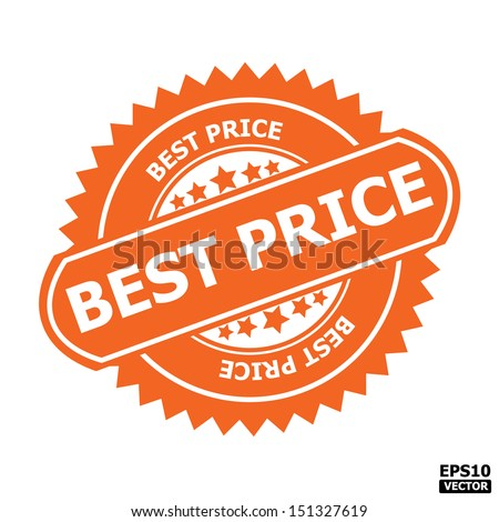 Best Price Product Saller And Choice Award Or Vector Label ...