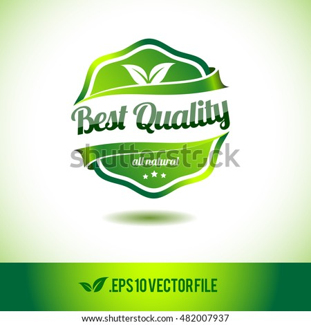best quality badge label seal stamp stock vector 482007937