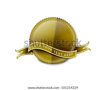 best Quality Labels design - stock vector
