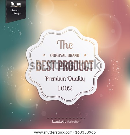 Best Quality stamp, sticker, tag, label, badge.  - stock vector