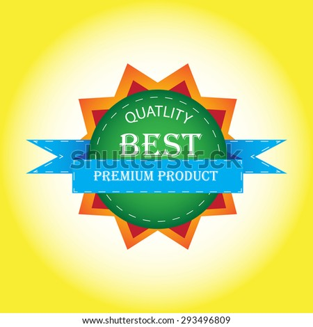 best quality tag designs vector - stock vector