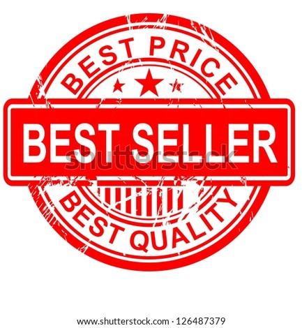 Best Seller vintage vector - stock vector