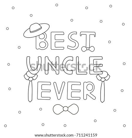 Uncle stock images royalty free images vectors for Uncle coloring pages