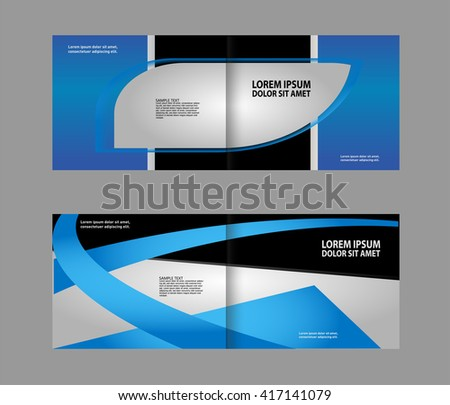 Bi-Fold Corporate Business Store Mock up & Brochure Design