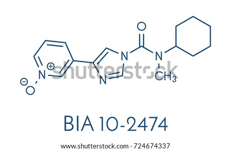 bia 102474 experimental drug molecule fattyのベクター画像素材