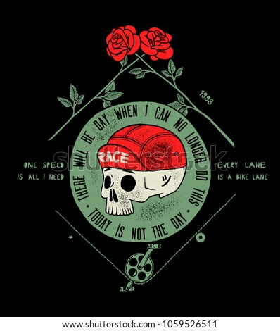 stock-vector-bicycle-skull-in-cap-dead-c