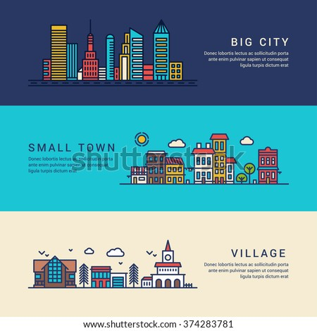village vs city Big city glamor balderdash try big city cost if you want to live like a king (or at least be your own landlord), move to the country 1 it's cheap.