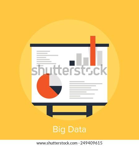 Big Data - stock vector