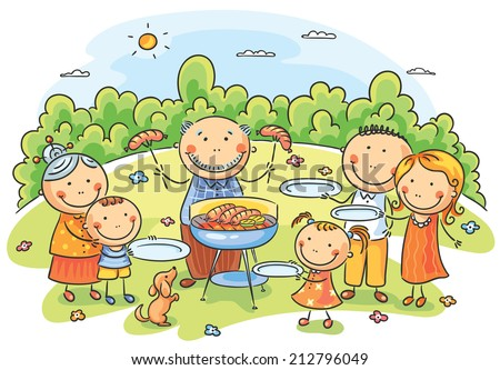 Picnic Cartoon Stock Images Royalty Free Images Amp Vectors