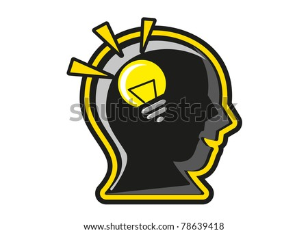 big idea - stock vector