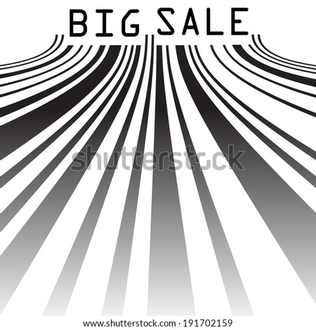 Big Sale bar codes all data is fictional. EPS 10 vector file included