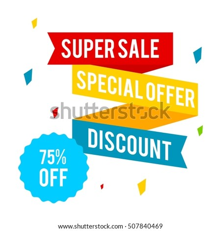Big Sale, Discount banner for your store
