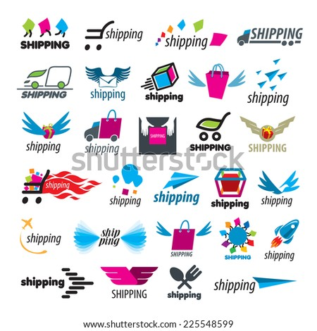 biggest collection of vector icons of shipping