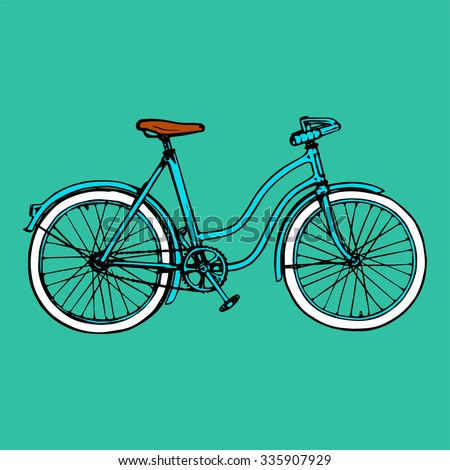 bike bicycle velo vector