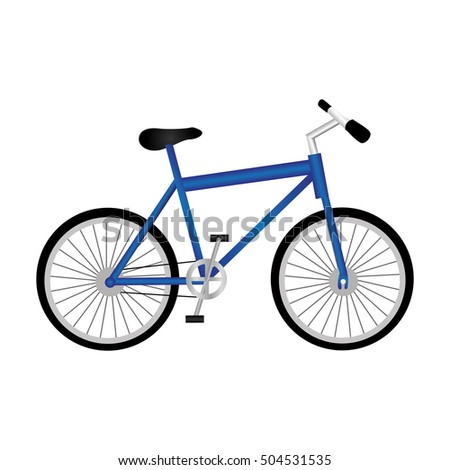 bike or bicycle icon image