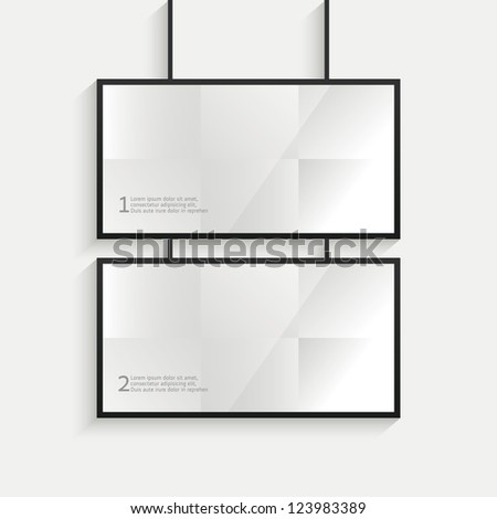 Billboard web - stock vector