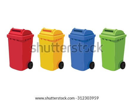 bin cartoons vector