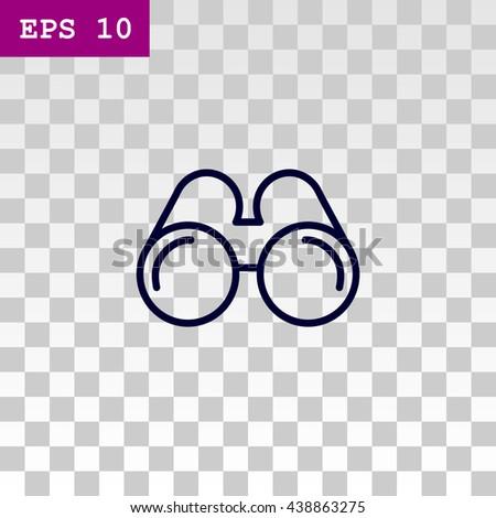 Binoculars icon, Binoculars icon eps 10, Binoculars icon vector, Binoculars icon illustration, Binoculars icon jpg, Binoculars icon picture, Binoculars icon flat, Binoculars design, Binoculars icon. - stock vector