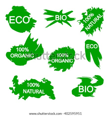 Bio, eco, natural, organic labels