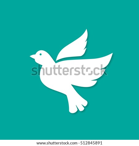 Bird crow Icon. Bird crow Icon Vector