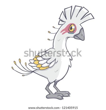 Bird Monster Vector 3 - stock vector