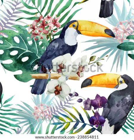 bird, nature, pattern - stock vector