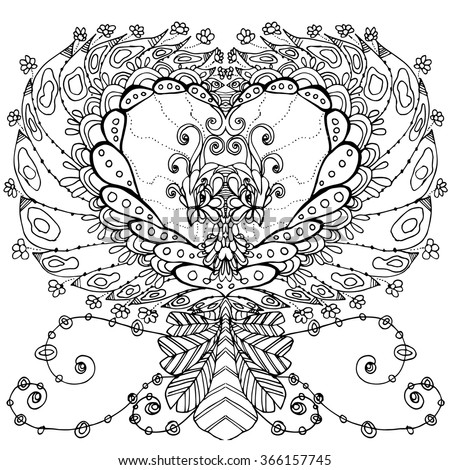 Eastern goldfinch coloring page sketch coloring page for Double heart coloring pages