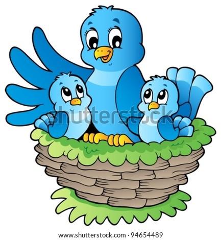 Bird theme image 3 - vector illustration. - stock vector