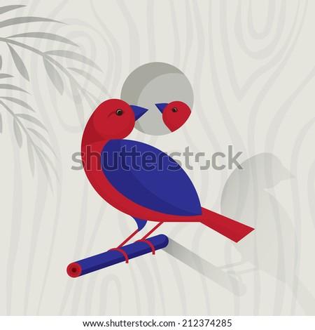 Birdhouse - stock vector