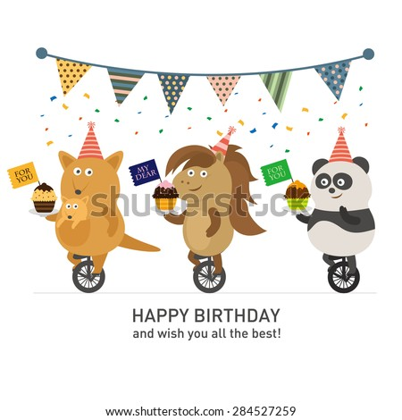 Birthday - stock vector