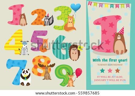 Birthday Party Invitation Images RoyaltyFree Images – Invitation Cards Templates for Birthdays
