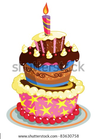 Birthday Cake Stock Photos, Images, & Pictures  Shutterstock