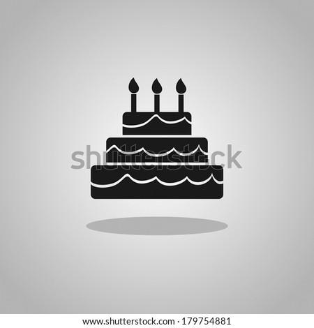 Birthday Cake Icon 16x16 Image Inspiration of Cake and Birthday