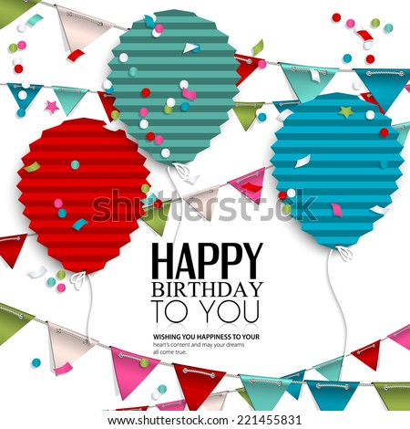 Birthday Card Images RoyaltyFree Images Vectors – Birthday Card with Pictures