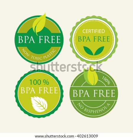 Bisphenol-A Free Label set