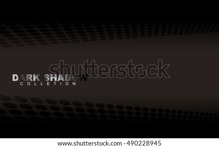 Black and grey dark shadow background with perspective