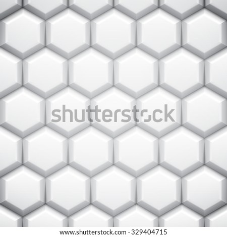 Black and white abstract geometric background with cells