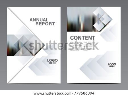 Black White Brochure Layout Design Template Stock Vector Royalty - Black and white flyer template free