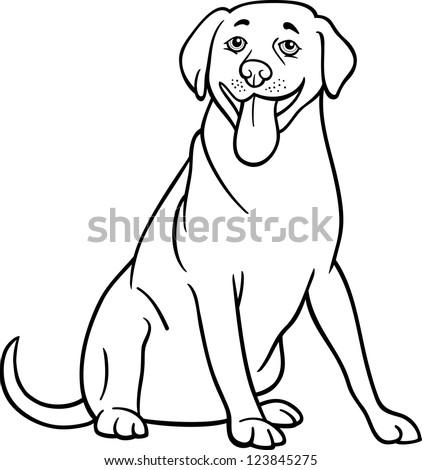 Cartoon Labrador Dog Stock Images Royalty Free Images
