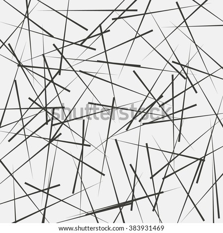 Black and white geometric pattern, abstract background, vector. Abstract monochrome texture.