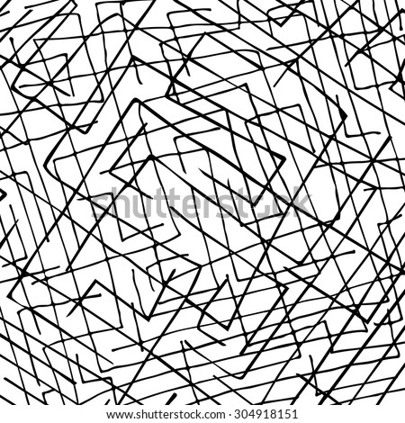 black and white pattern of lines