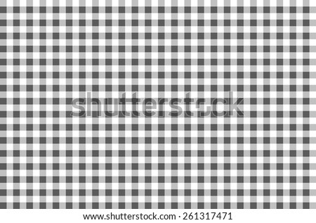 Black and white plaid pattern. black and white tartan. 10 eps - stock vector