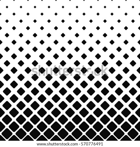 Lovely Black And White Rounded Square Pattern Design Background