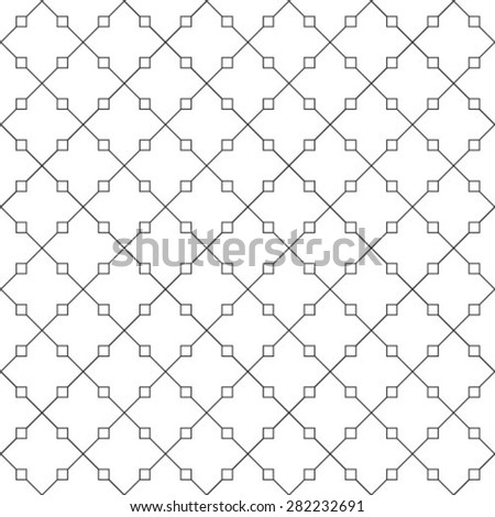 Black and white texture. Abstract pattern. Seamless vector background.