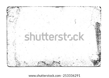 Black and white vector grunge texture. For creating grunge illustrations. Texture background - stock vector