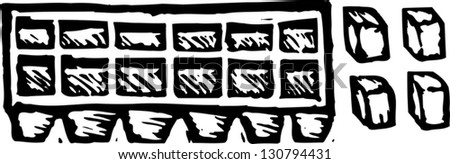 Ice tray Stock Photos, Images, & Pictures