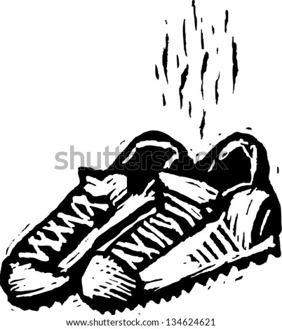 how to clean tennis shoes that stink
