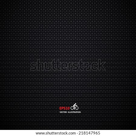 Black background  ,Vector carbon fiber