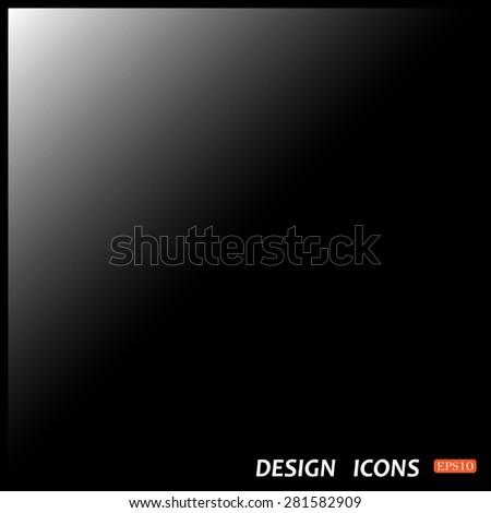 black Background vector design - stock vector